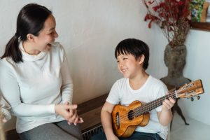 kid and instrument