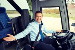 bus driver welcome gesture