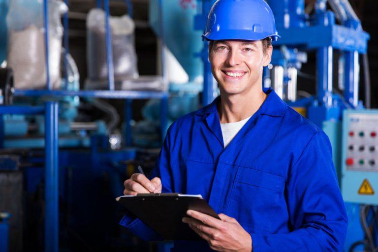 blue collar employee
